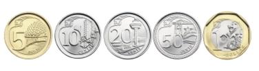 シンガポール硬貨