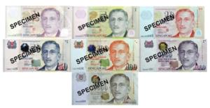 シンガポール紙幣